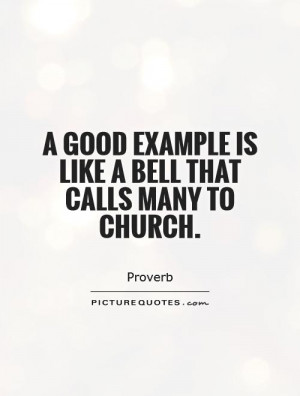 Church Quotes Proverb Quotes