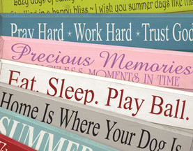3d Wood Signs With Sayings