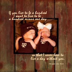 Twins - a special bond