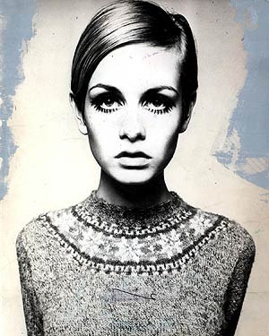 She seems nice and down-to-earth does Twiggy.