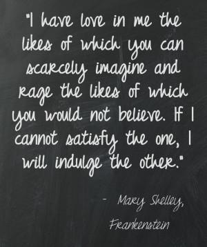 Frankenstein, Frankenstein Quotes, Monsters Quotes, My Rage Quotes ...