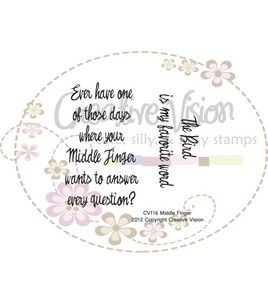 Clear Stamps 2X2-Middle Finger & stamps at Joann.com