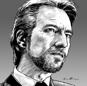 Hans Gruber from Die Hard by darrenclose