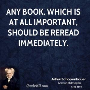 Books Arthur Schopenhauer Quotes