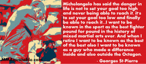 Cute Marine Girlfriend Quotes Georges st-pierre (gsp) quotes