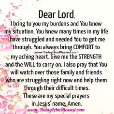 Prayer for Strength Quotes   GIVE ME STRENGTH TO CARRY ON « Today I ...