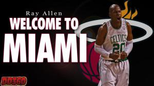 Ray Allen Miami Heat Willpr