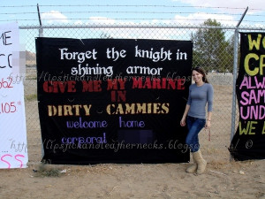 Military Homecoming Sign Quotes Military homecoming banner · found on ...
