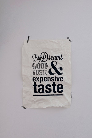 Artfully Crumpled Typographic Posters Of Clever Quotes