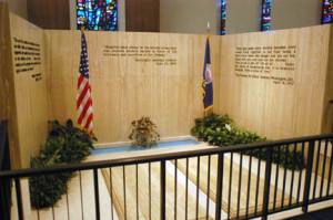 Dwight Eisenhower Grave Graves of dwight (left)