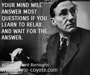 William Seward Burroughs quotes