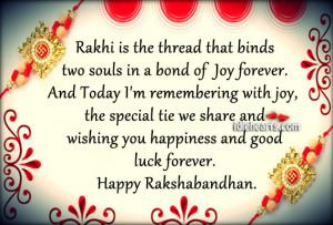 ... Happiness, Happy, Joy, Luck, Raksha Bandhan, Special, Today, Wishing