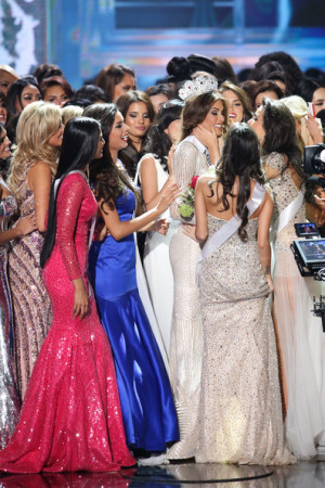 Gabriela Isler Walks The Stage Newly Crowned