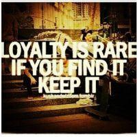 loyalty #trust