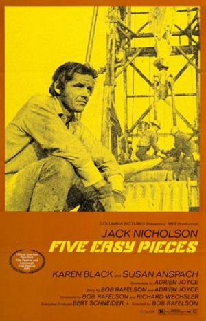 Five Easy Pieces - Movie Poster -