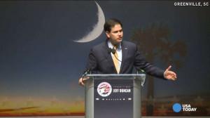 Florida Senator Marco Rubio quotes the movie 'Taken' while addressing ...