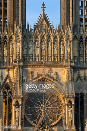 France Marne Reims Notre Dame de Reims cathedral listed as World