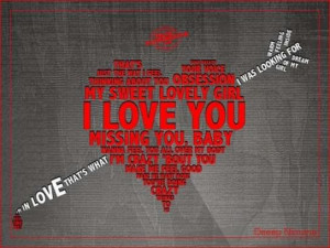 My Sweet Lovely Girl I Love You Missing You Baby Heart Graphic