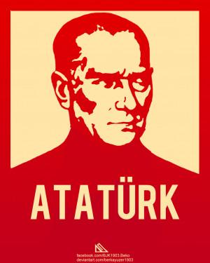 Mustafa Kemal Ataturk by berkayuzer1903