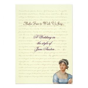 jane_austen_wedding_celebration_quotes_invitation ...