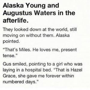 Okay. I cried. A little. It broke my heart. John Green quotes | Tumblr