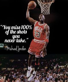 ... you never take michael jordan failure quote more sports quotes quotes