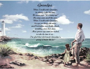 GRANDPA PERSONALIZED POEM FROM GRANDDAUGHTER: Sayings Quotes, Crafts ...