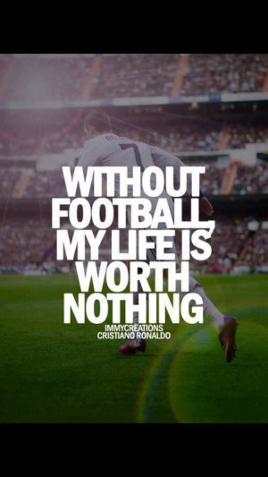 CR7 quote. And awesome at that.