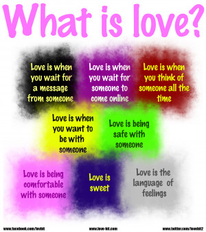 What is love What Is Love In Quotes