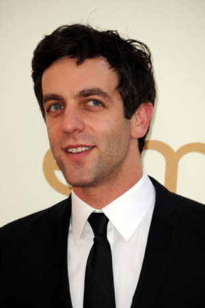... 2011 getty images image courtesy gettyimages com names b j novak b j