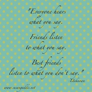 Meaningful Quotes About Friendship Meaningful quo.