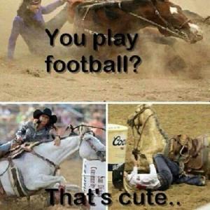 you play football?