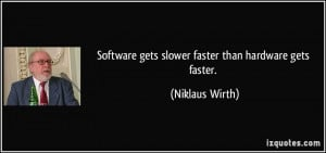 More Niklaus Wirth Quotes