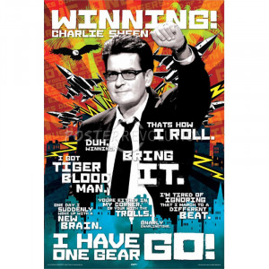 Charlie Sheen Quotes Movie Poster