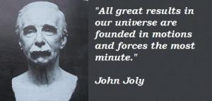John joly famous quotes 1