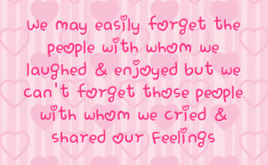 Friendship Hurt Facebook Status On Hearts Background