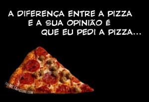Funny Pizza Quote Opinion