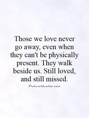 Lost Loved Ones Quotes