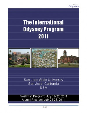 Quotes from past Odyssey Attendees - The Odyssey Program
