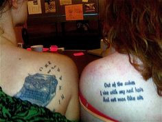 Brewer & Guth Tattoos @ Pilcrow Lit Fest: