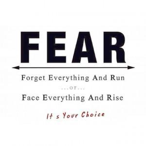 FEAR #Face #Reality