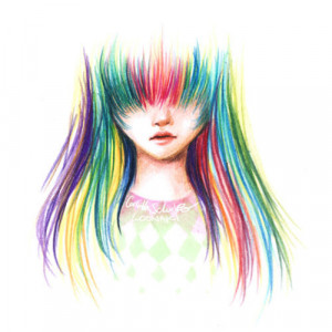 awesome, colorful, design, drawing, girl, grafico, hair, i want, so ...