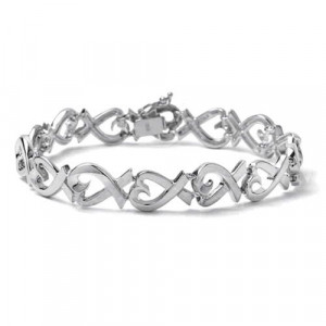 Tiffanty & Co Paloma Picasso Loving Heart Bracelet