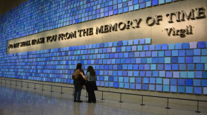 Virgil quote in the 9/11 Memorial Museum. Photo by Christopher ...