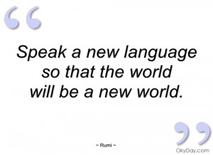 speak a new language