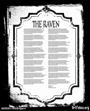 The RavenThe poem by Edgar Allan Poe. This one is a mix of photography ...