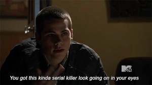 ... dylan from o brien wolves stiles gif kinda serial dylan o brien teen