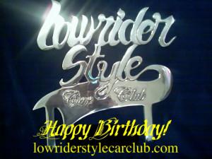 Thread: Lowrider Style CC