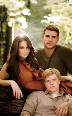 The Hunger Games Movie Katniss, Gale & Peeta