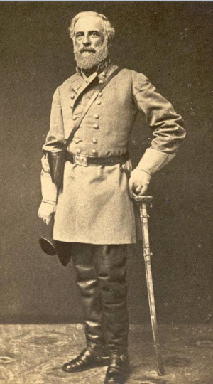General Robert E Lee Service Record
